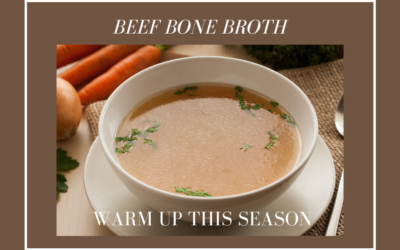 Warming Beef Broth