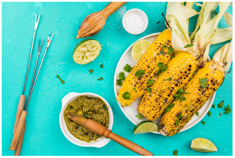 Butter Up!   Tasty BBQ Corn on the Cob