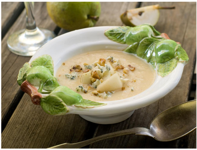 Summer Pear-Zucchini Soup